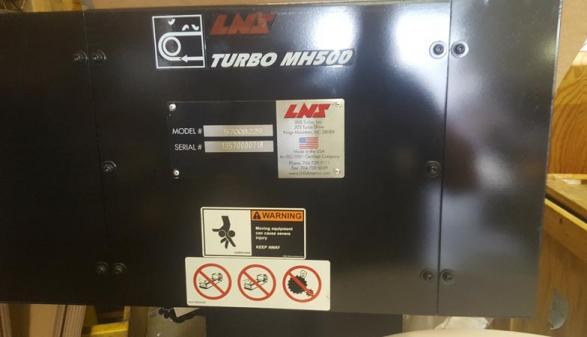 LNS Turbo MH500 Chip Conveyor