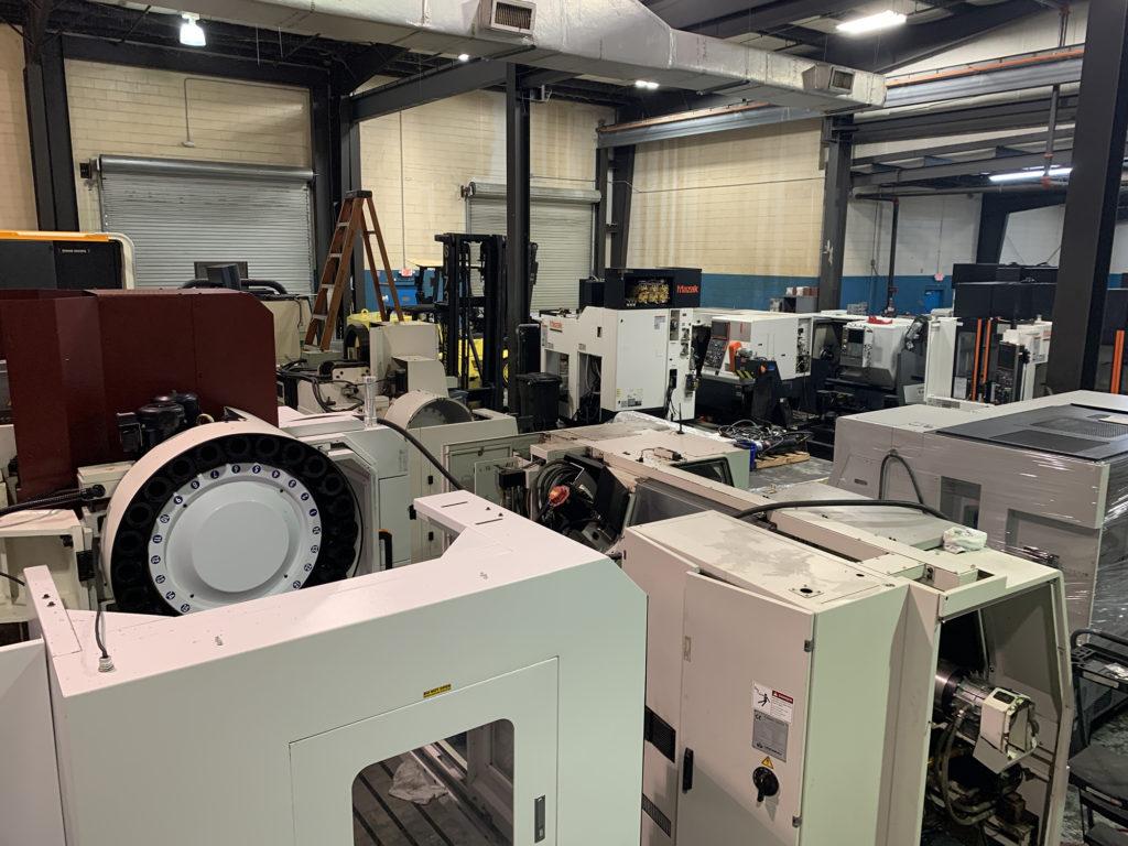 used cnc machine seller warehouse - Premier Equipment