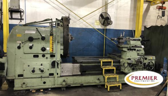 Zerbst Sliding Gap-Bed Manual Lathe