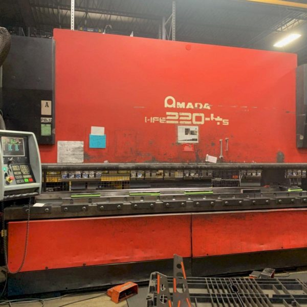 Amada HFE 220 4S Hyd Press Brake - 2007 1