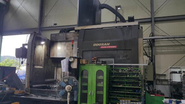 Doosan Puma VTS1620M CNC VTL with Milling - 2010 1