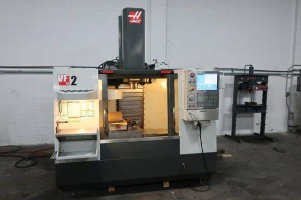 Haas VF-2 - 2011 1