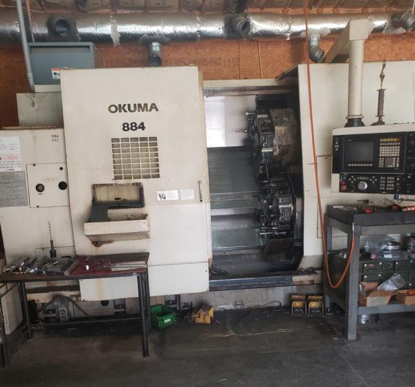 Okuma LU35-2SC x 850 - 1994 1