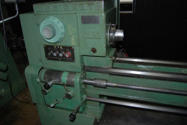 Cincinnati 15 x 60 Manual Engine Lathe 1