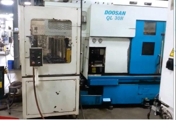 Doosan QL300H with Gantry Loader - 2000 1