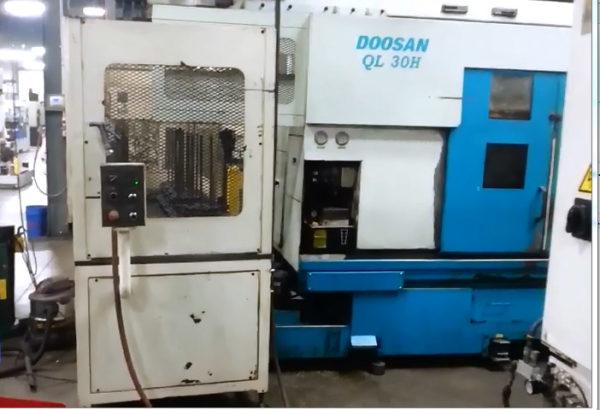 Doosan QL300H with Gantry Loader - 2000 1
