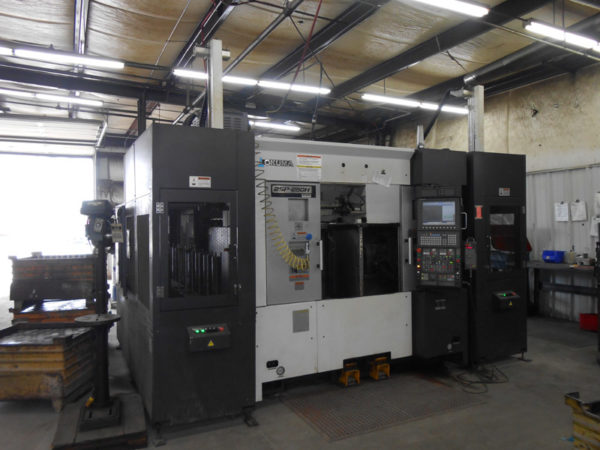 Okuma 2SP-250HM with Gantry - 2015 1
