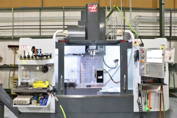 Haas VF-4SS with Rotary Table - 2015 1