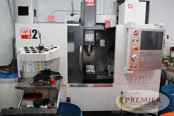 Haas Super Mini Mill 2 - 2017 1