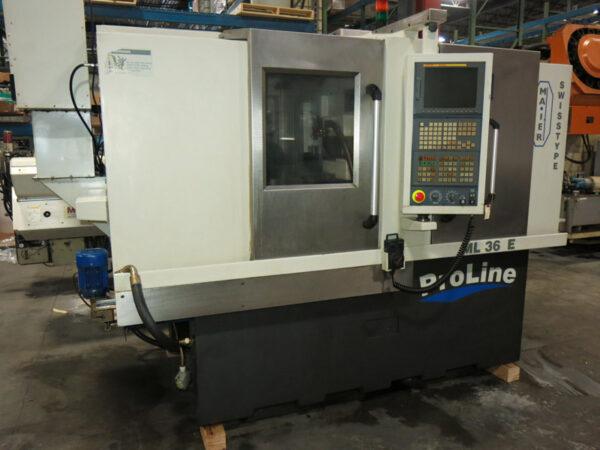 Maier ML36E CNC Swiss Lathe (2006) 1