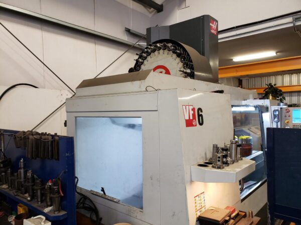 Haas VF-6/50 with Rotary Table (2014) 1