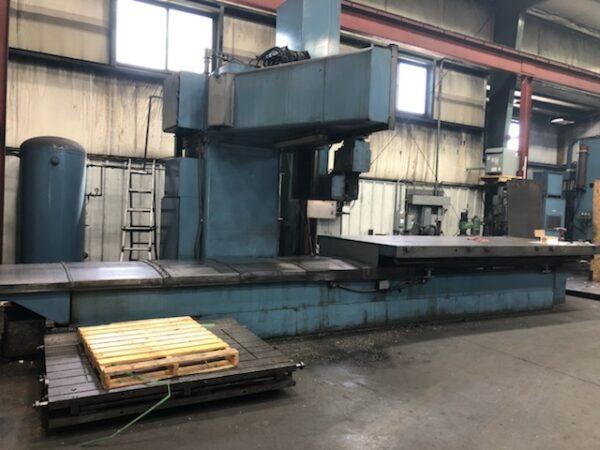Tarus #5 60x160 CNC Mill 1