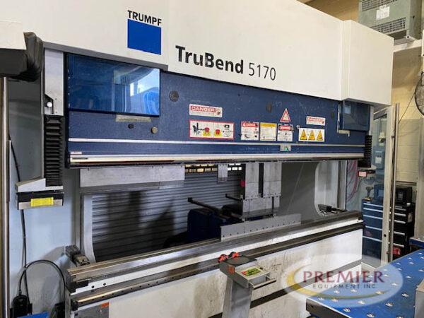 Trumpf 5170 CNC Press Brake (2015) 1