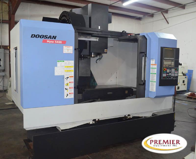 Doosan Mynx 5400 CNC Mill