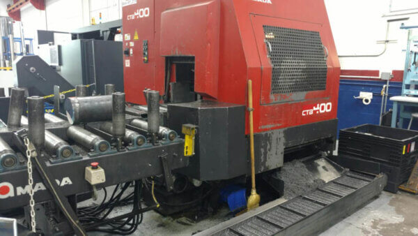 Amada CTB-400 CNC Bandsaw - 2001 1