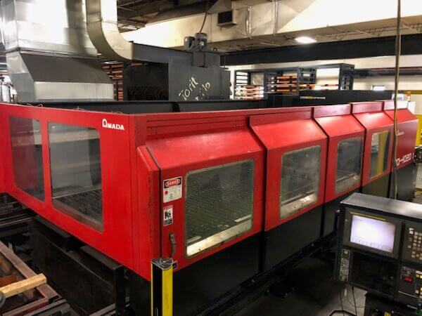 Amada FO-4020 4000 Watt Laser - 2002 1
