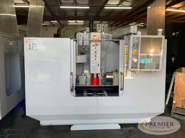 Haas TM-1P with Rotary Table - 2007 1