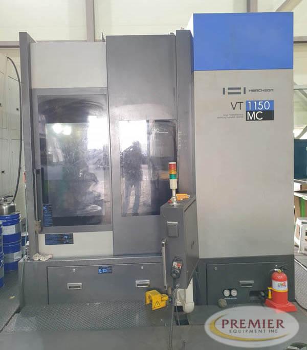 Hwacheon VT-1150MC VTL with Milling - 2011 1