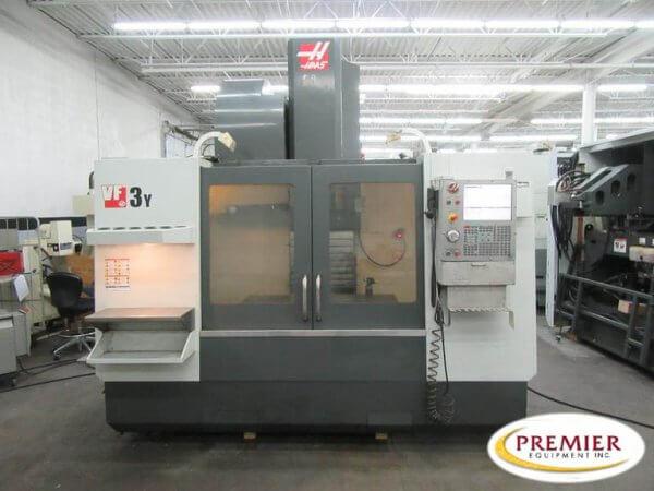 Haas VF3YT-50 used CNC Mill