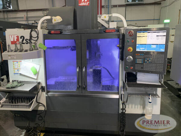Haas VF-2SS with Rotary Table - 2014 1