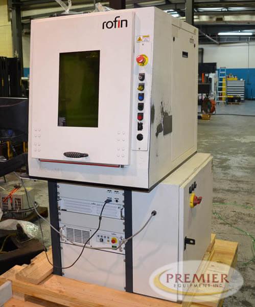 Rofin Powerline F50 Laser Marking System - 2015 1
