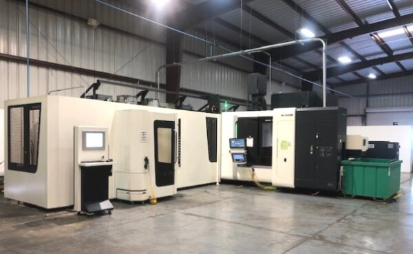 DMG Mori NHX5000 with 24 St. Pallet Pool - 2017 1