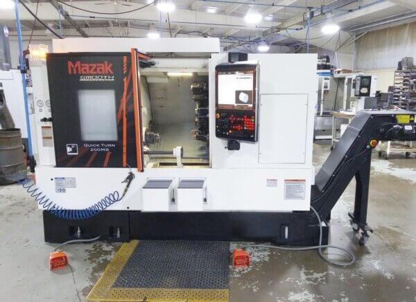 Mazak Quick Turn 200MS Big Bore - 2018 1