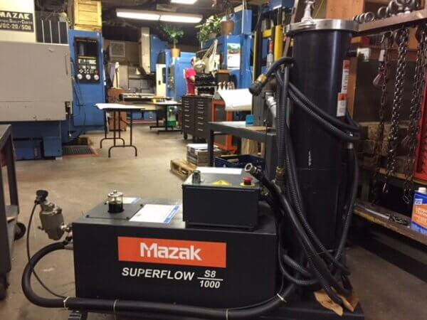 Mazak Superflow S8 1000 PSI High Power Coolant 1