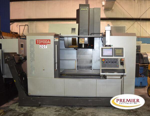 Toyoda AF1000 Used CNC Mill