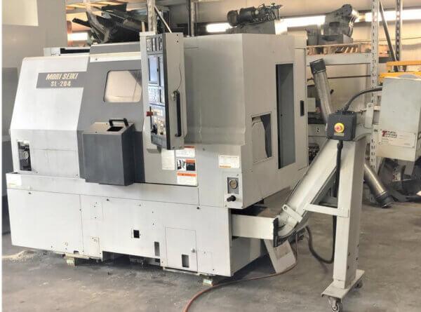 Mori Seiki SL2504SMC Used CNC Lathe
