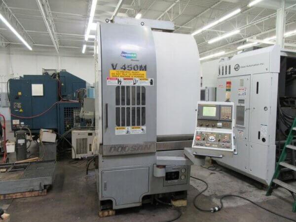 Doosan V450M CNC VTL