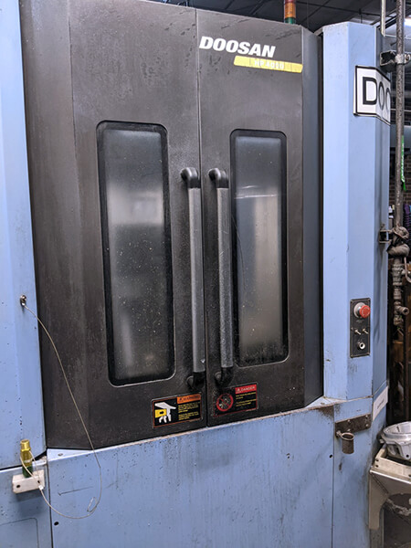 Doosan HP4000 Used CNC HMC