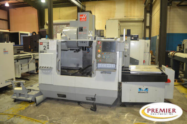 Haas VF2YT 2-Pallet CNC Mill
