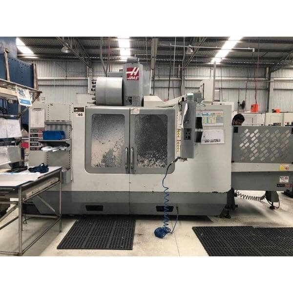 Haas VF-3SS (2-Pallet) - 2009 1