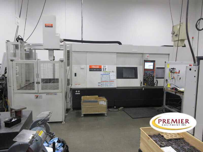 Mazak Integrex 2004ST with Gantry