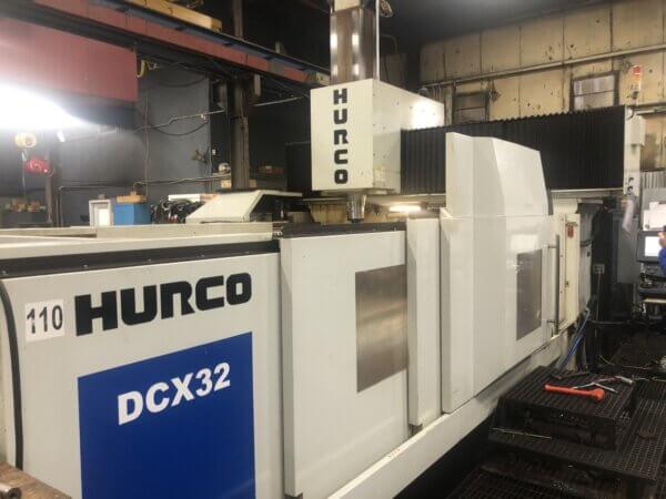 Hurco DCX32/50T Bridge Mill - 2012 1