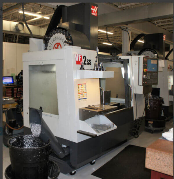 Haas VF2SS Used CNC Mill