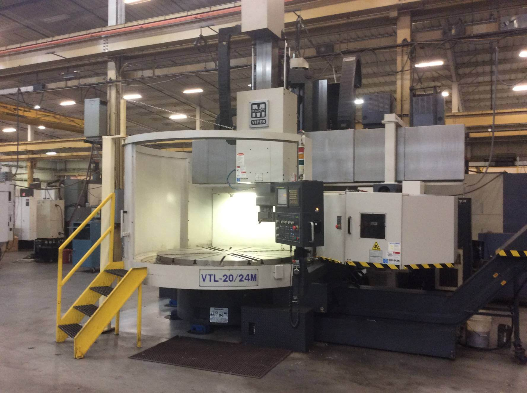 MIGHTY VIPER VTL-20/24M VTL with Milling