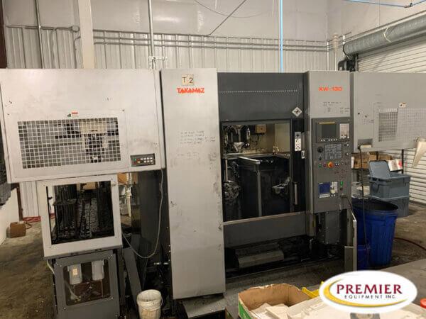 Takamaz XW130 Used CNC Lathe