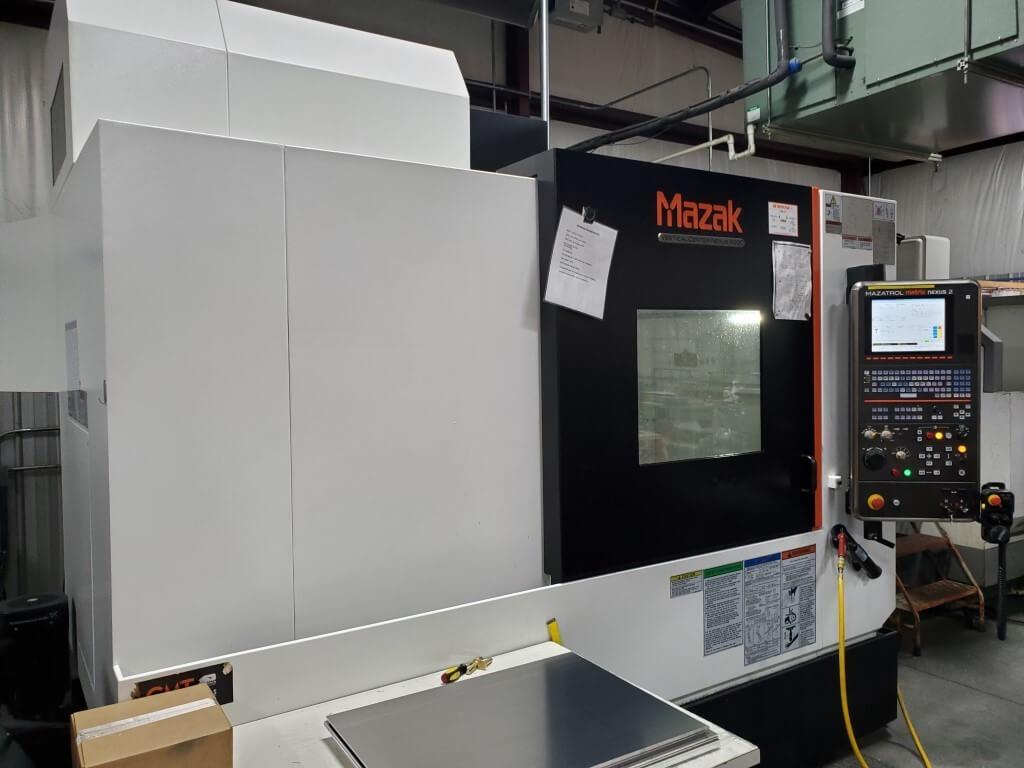 Mazak Nexus 530C Used CNC Mill