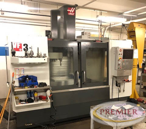 Haas VF3 Used CNC Mill