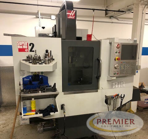 Haas Super Mini Mill 2 Used CNC Mill