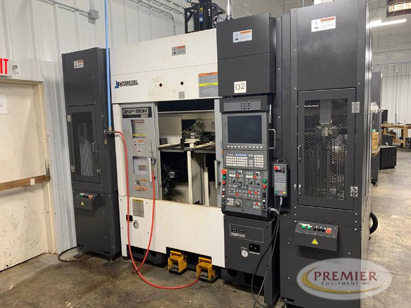 Okuma 2SP150H - CNC Lathe