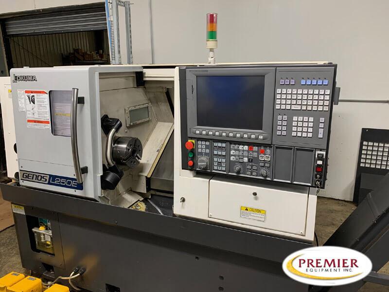 Okuma Genos L250E - Used CNC Lathe