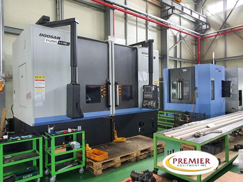 Doosan PUma V83002SP CNC VTL