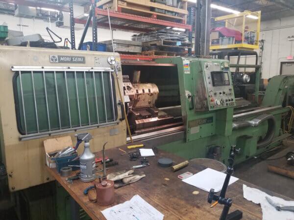 Mori Seiki TL40 CNC Lathe