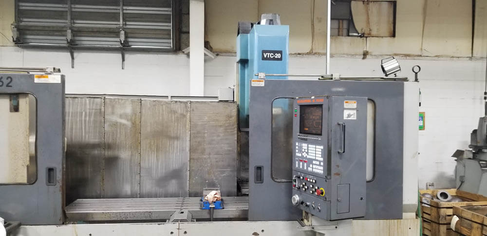Mazak VTC20C Used CNC Mill