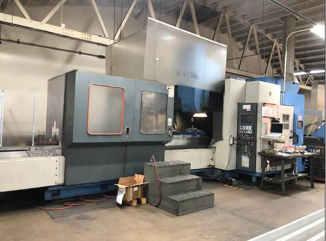 Mazak AJV60160 Used CNC Vertical