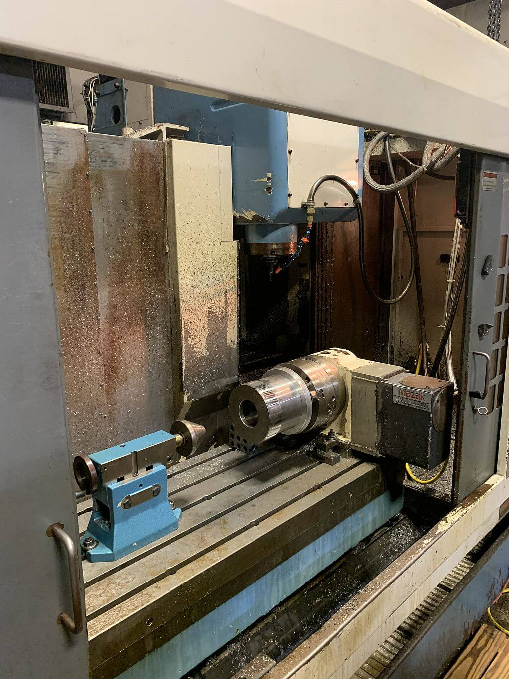 Mazak VTC-200B CNC Mill for sale