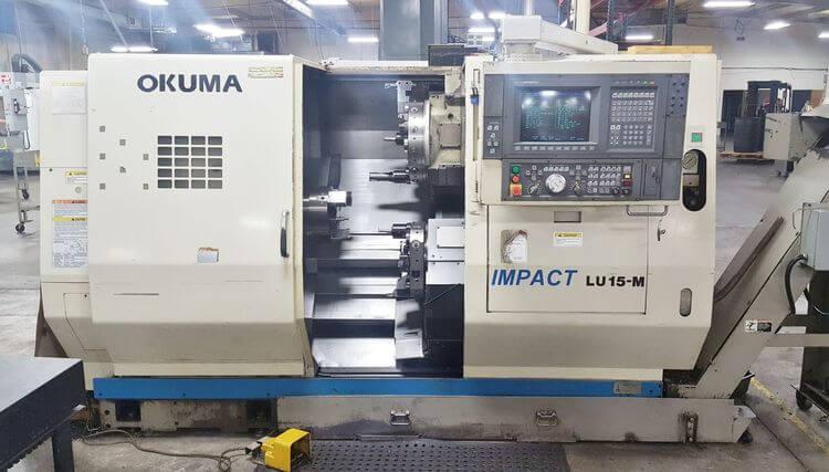 Okuma LU15M Multi-Axis Lathe